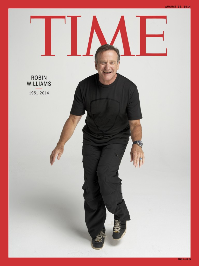 Time Magazine salutes Robin Williams
