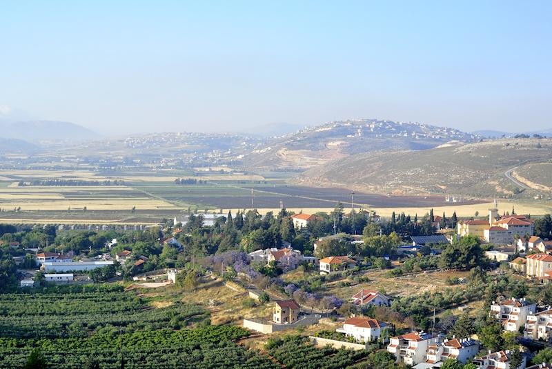 Metula, Golan Heights, Israel