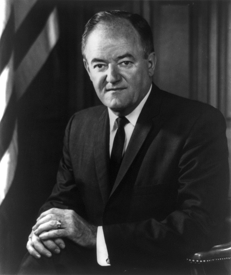 Hubert H. Humphrey, 38th Vice President of the United States
